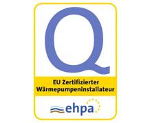 Certifikát od Európskej Asociácie Tepelných Čerpadiel (EHPA)