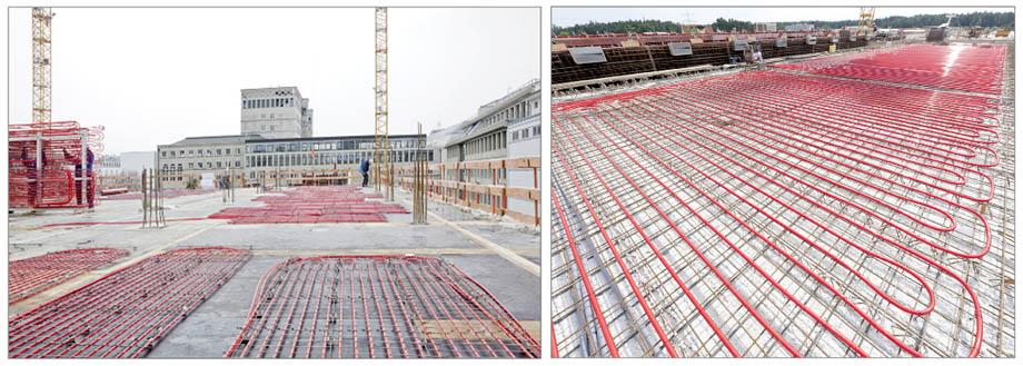 temperovanie betónového jadra BKT